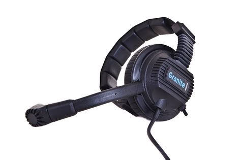 Headset Sony M Dual dual headset with microphone switch gs chs2ms granite soundgranite sound