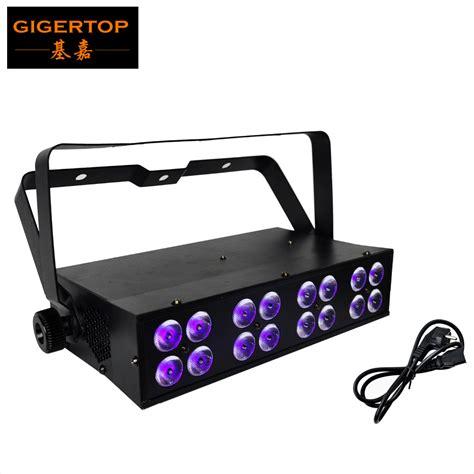 led stage light price free shipping 16pcs 3w led uv bar stage light dmx512 led