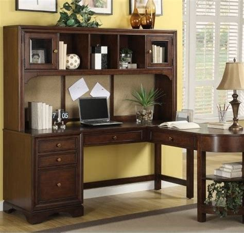 L Shaped Desk With Hutch Home Office Home Office Furniture L Shaped Desk With Hutch Photo Yvotube