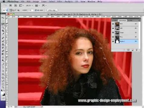 tutorial photoshop hair cut how to cut out hair in photoshop tutorial 02 part 2 of 2