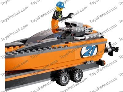 Lego City 60085 4x4 With Powerboat Set Power Motorcar Truck Boat lego 60085 4x4 with powerboat set parts inventory and