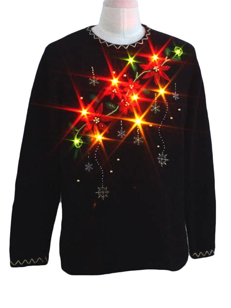 lightup ugly christmas sweater holiday editions unisex
