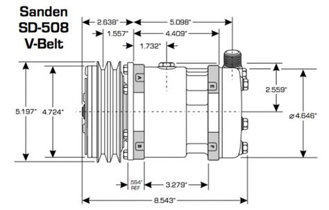 sanden compressor wiring diagram wiring diagram