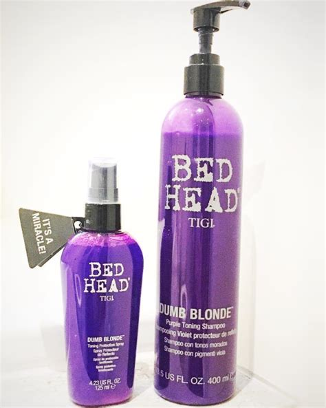 bed head dumb blonde review stay bright blonde thanks to dumb blonde from bed head