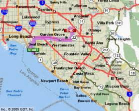 map of california cities and beaches huntington california plan california