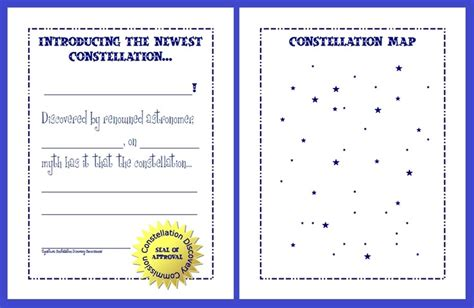 Constellation Worksheets by Summer Unit Copying Constellations