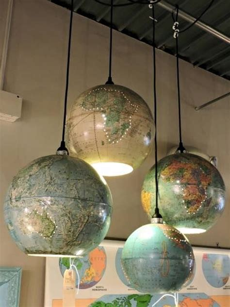 World Lighting by 40 Recycled Ls That Are Border Line Genius