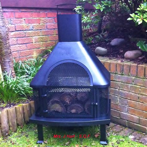 Log Burner Chiminea Customer Reviews For Kingfisher Log Burner Chiminea Bbq