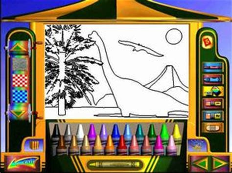 crayola magic 3d coloring book allgame