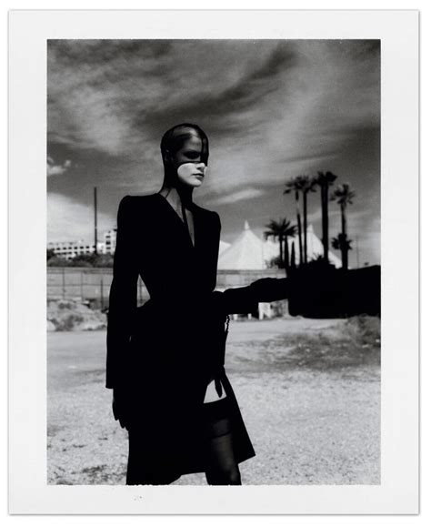 the 6 million dollar story polaroids by helmut newton