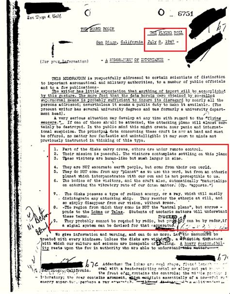 Declassified Nasa Documents declassified fbi document earth visited by ufos aliens