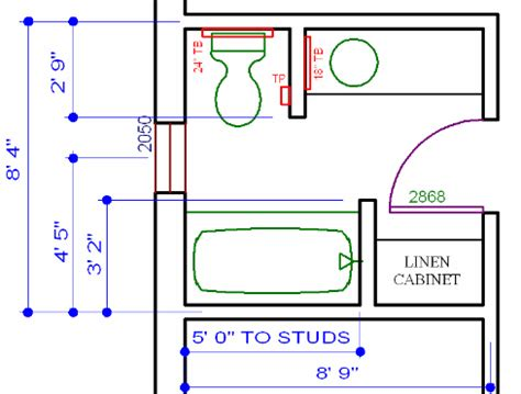 Bathroom Layout Basics Bathroom Design