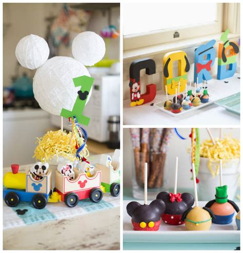 Mickey Mouse Decorations Diy by Diy Mickey Mouse Birthday Decorations Image