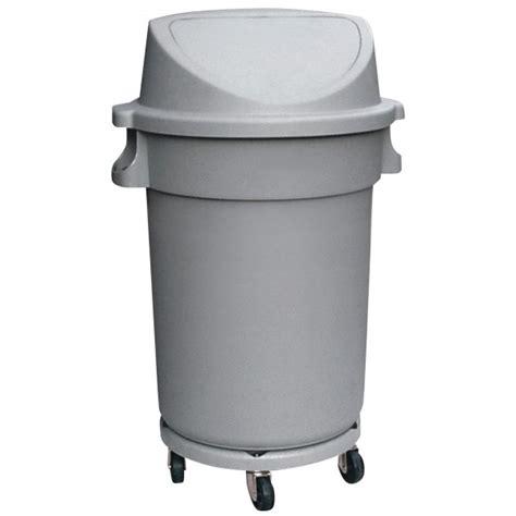 abfallbehälter kunststoff mit deckel abfallbeh 228 lter kunststoff mit pushdeckel 9219 801