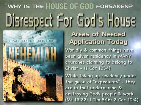 the house of god why is the house of god forsaken