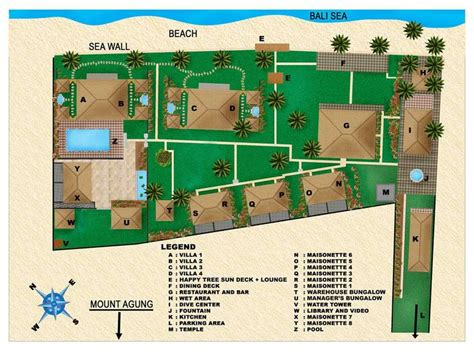 small hotel layout plan plans for a small resort scuba seraya floor plans 2