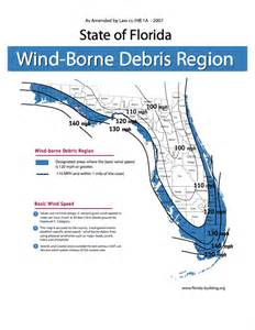 florida wind speed map what hurricane wind zone is putnam county in
