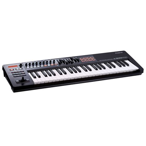 roland a 500 pro usb midi controller keyboard at gear4music