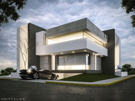 jc house architecture modern facade contemporary