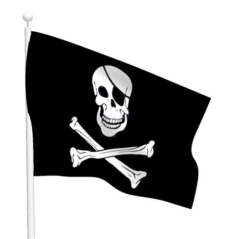 Garden Wall Stickers polyester jolly roger flag flags international