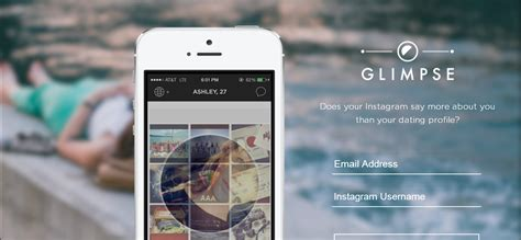 mobile dating glimpse mobile dating app built on instagram