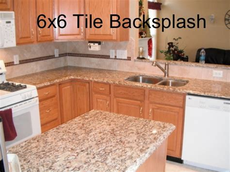 6 inch tile backsplash 6x6 tile backsplash design