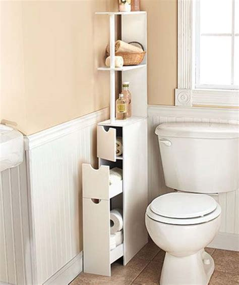 Bathroom Small Storage 30 Amazingly Diy Small Bathroom Storage Hacks Help You Store More Architecture Design