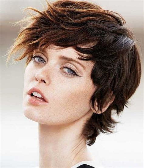 best short haircuts for brown hair on women over 60 25 best short brown haircuts short hairstyles haircuts