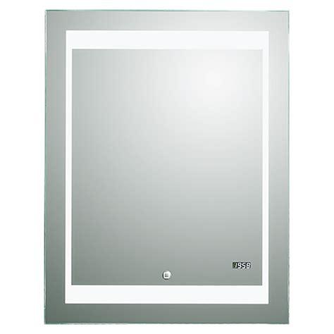 silver badezimmerspiegel spiegel mit beleuchtung und uhr gispatcher