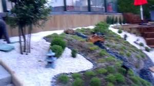 jardin japonais en pente