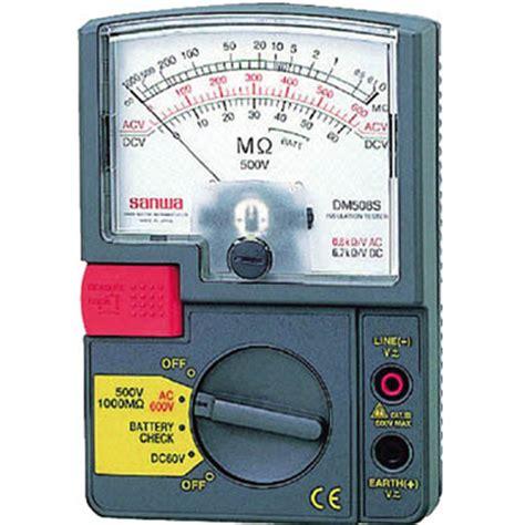 Mg5000 Sanwa Digital Insulation Tester sanwa dm508s analog insulation tester meter digital