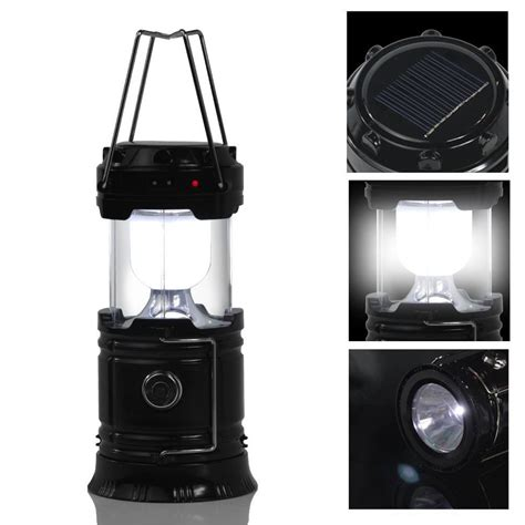 Rechargeable Outdoor Lighting 6 Led Portable Usb Solar Light Rechargeable Lantern Outdoor Cing Hiking L Ebay