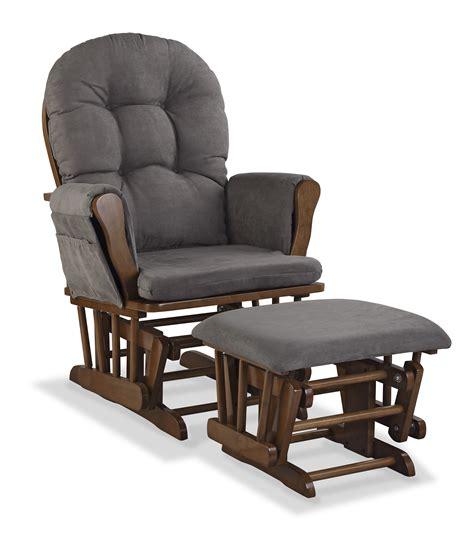 hoop custom upholstery glider and ottoman storkcraft custom hoop glider ottoman dove brown gray
