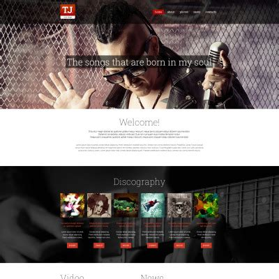 drupal themes for artists music drupal themes templatemonster