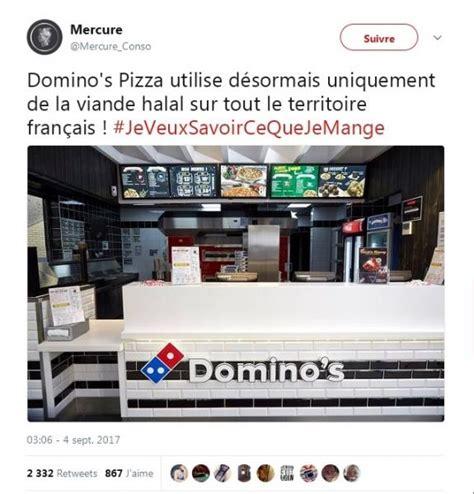 domino pizza halal atau haram le halal est domino ant hoaxbuster v 233 rifier l
