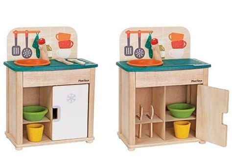 plan toys kitchen set plantoys debuts their redesigned play kitchen play sink fridge sets inhabitots
