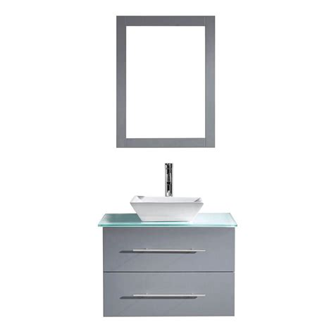 Husky 52 In W 20 In D 15 Drawer Tool Chest And Cabinet by Virtu Usa 35 4 In W X 21 7 In D Vanity In Grey With