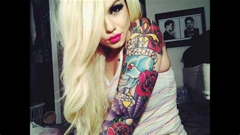 tattoo girl youtube sexy hot tattooed women gallery of gorgeous tattooed