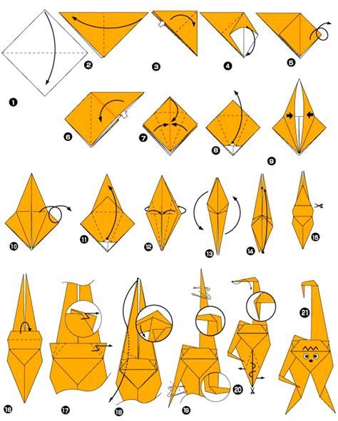 Origami Monkeys - origami of monkey