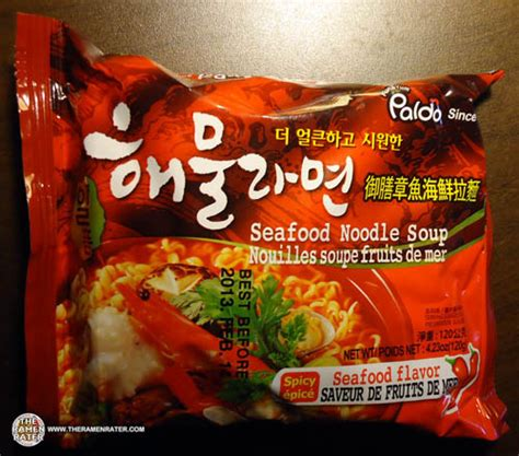 Paldo Seafood Noodle Soup 120gr re review meet the manufacturer paldo seafood noodle