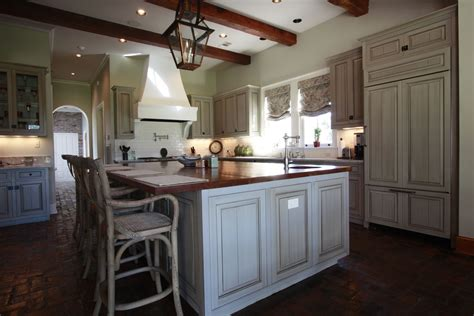 Custom Kitchen Cabinets by Handmade Custom Kitchen With Glazed Cabinets By Northshore