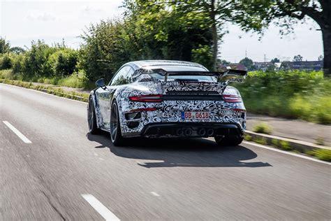 porsche hypercar 2017 2017 porsche 911 turbo s becomes techart gtstreet r gets