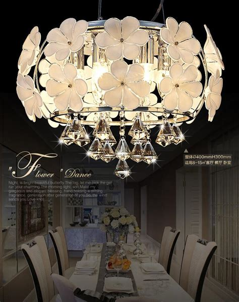 Simple White Chandelier Discount Fog White Glass Flower Chandeliers Simple And
