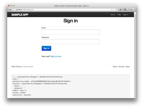 generate bootstrap layout rails 第8章 サインイン サインアウト rails チュートリアル