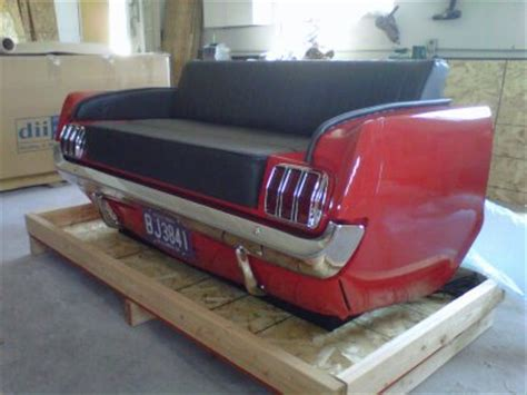 mustang couch 65 mustang rear sofa