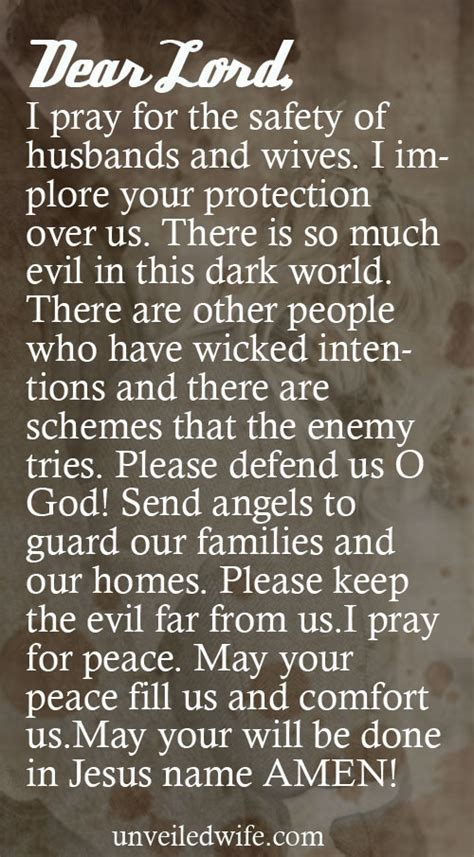 prayer of the day safety