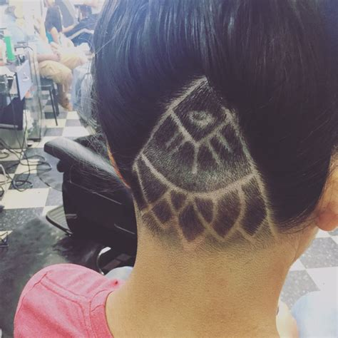 hair tattoo near me undercut hair tattoo by oscar love it yelp