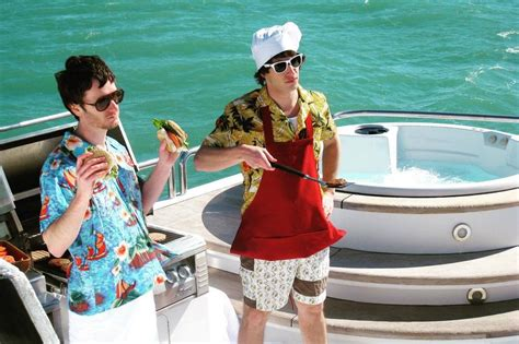 lonely island on a boat the lonely island movie s title and poster are as absurd