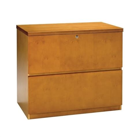 2 Drawer Lateral Wood File Cabinet Filing Cabinet File Storage Luminary 2 Drawer Lateral Wood In Maple Finish Ebay