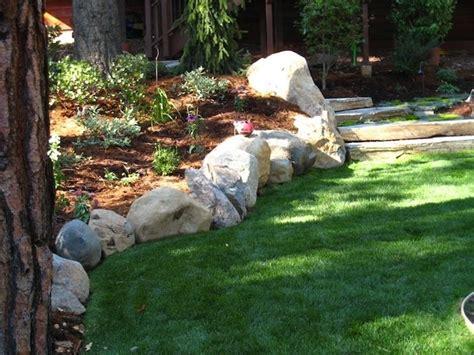aiuole giardino con sassi aiuole in pietra tipi di giardini realizzare aiuole in